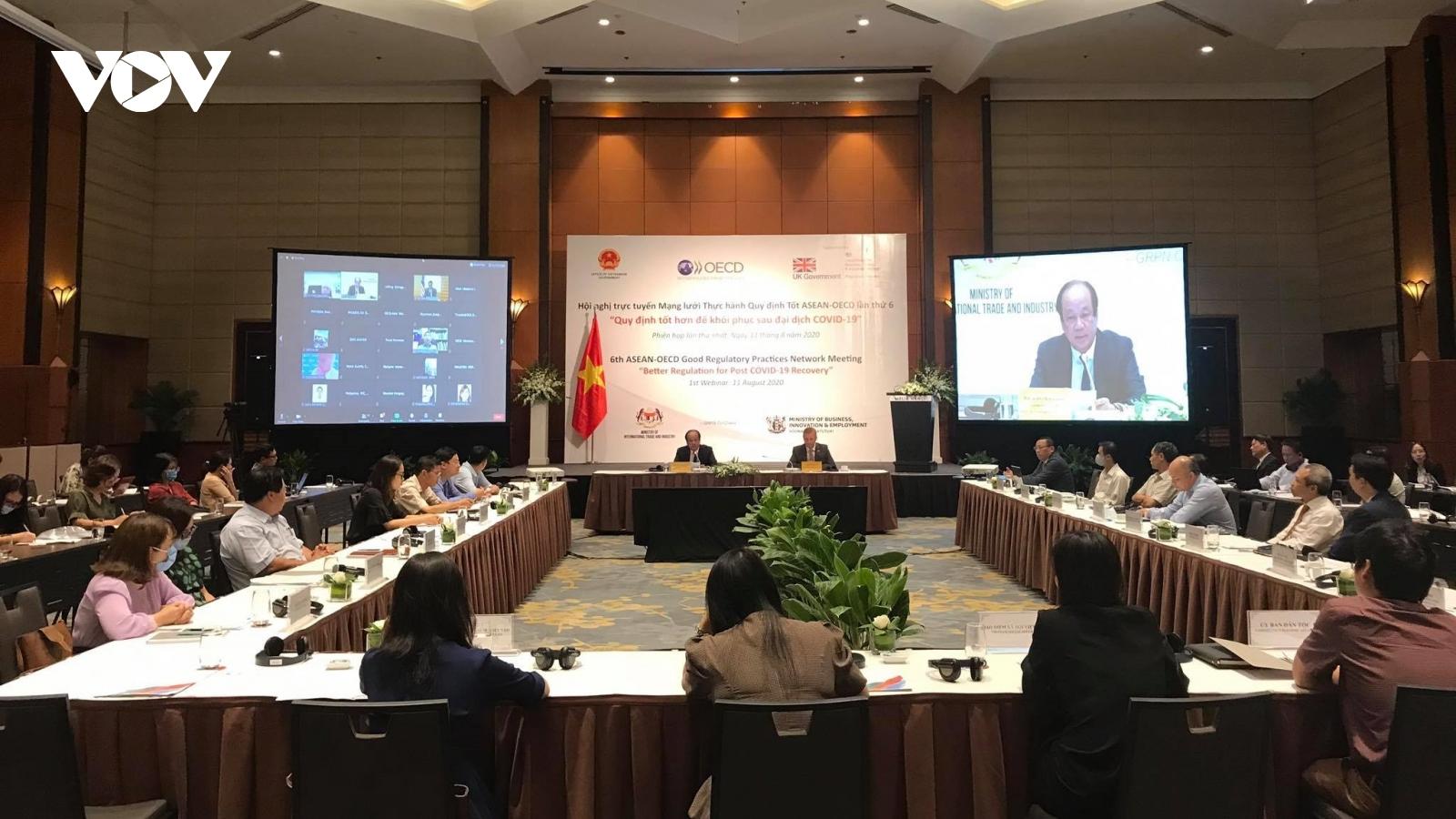 ASEAN và OECD quan tâm cải cách hành chính công trong bối cảnh Covid-19