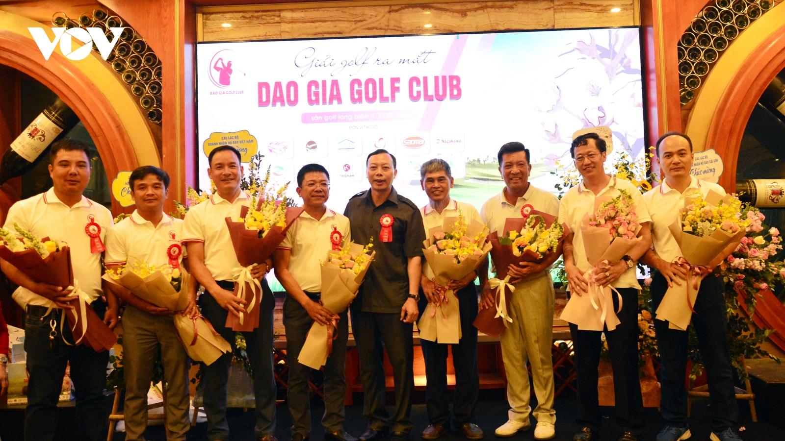 Giải Golf Cup Đào Gia lần I năm 2020: Nơi kết nối đam mê, tình đoàn kết
