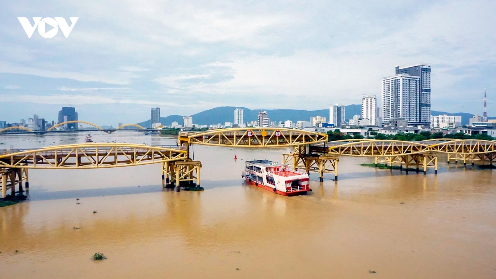 Video: Ấn tượng cầu Nguyễn Văn Trỗi ở Đà Nẵng nâng hạ nhịp