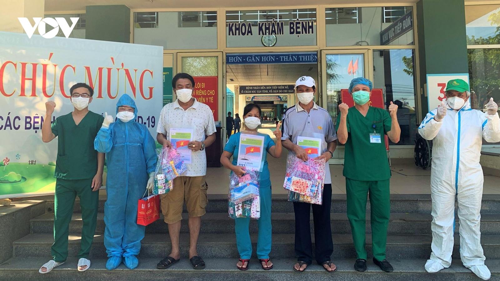 Đà Nẵng có thêm 3 bệnh nhân hết Covid-19 ra viện