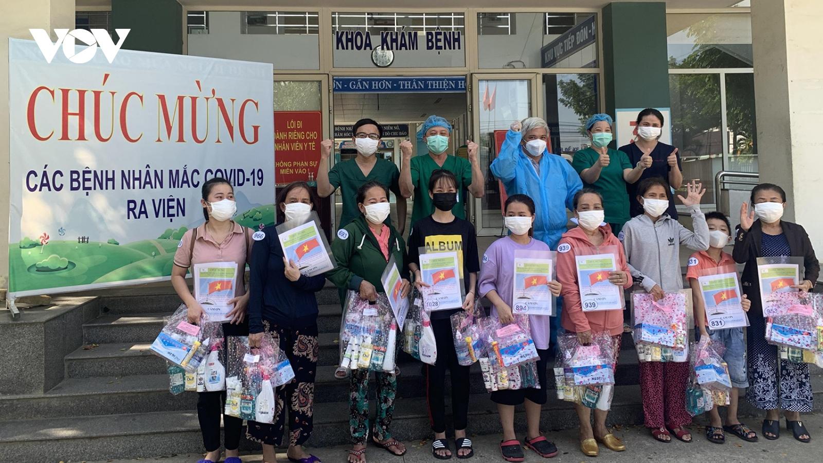 Bệnh viện dã chiến Hòa Vang chỉ còn 13 bệnh nhân Covid-19