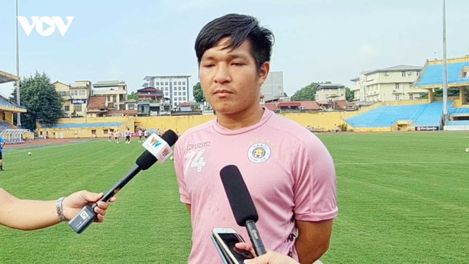 """""""Người hùng"""" của Hà Nội FC tiết lộ bí quyết thi đấu thăng hoa"""