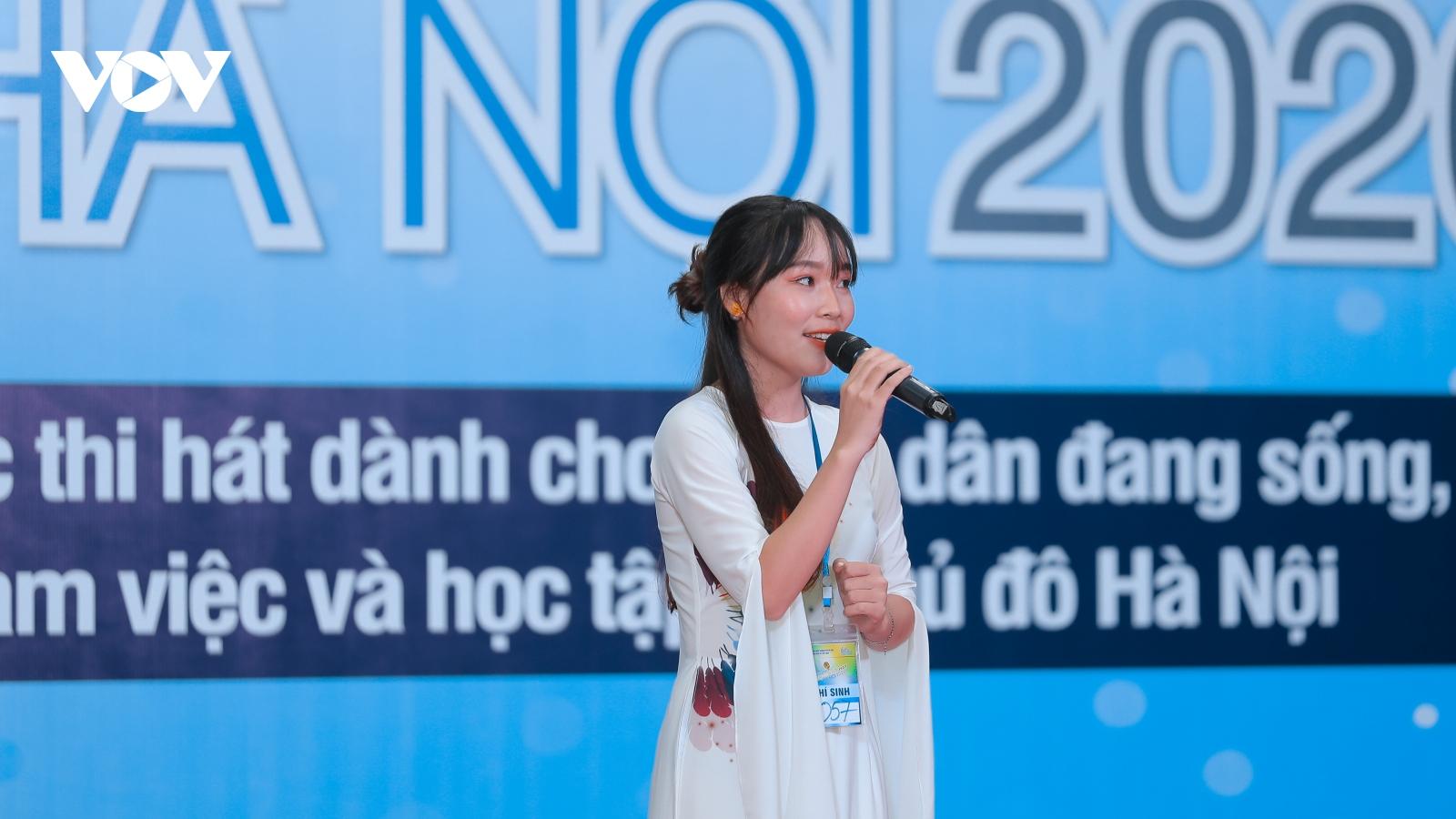 """Hơn 400 giọng ca tài năng tranh tài trong vòng sơ khảo cuộc thi """"Giọng hát hay Hà Nội"""""""