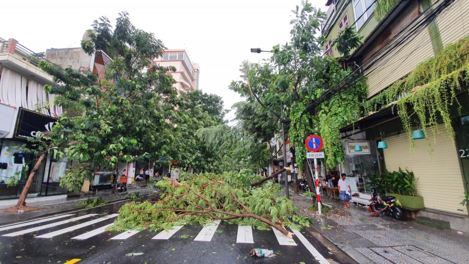 Thủ tướng Lào gửi điện thăm hỏi về thiệt hại do bão số 5 gây ra