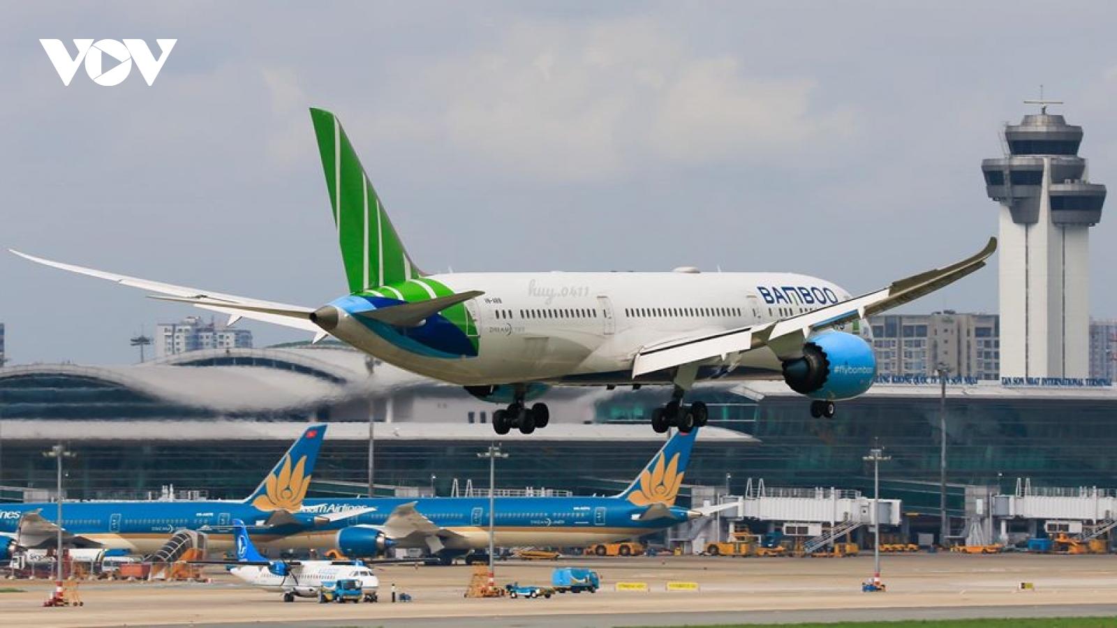 """Mở lại đường bay quốc tế: Các hãng bay ngóng chờ """"giờ G"""""""