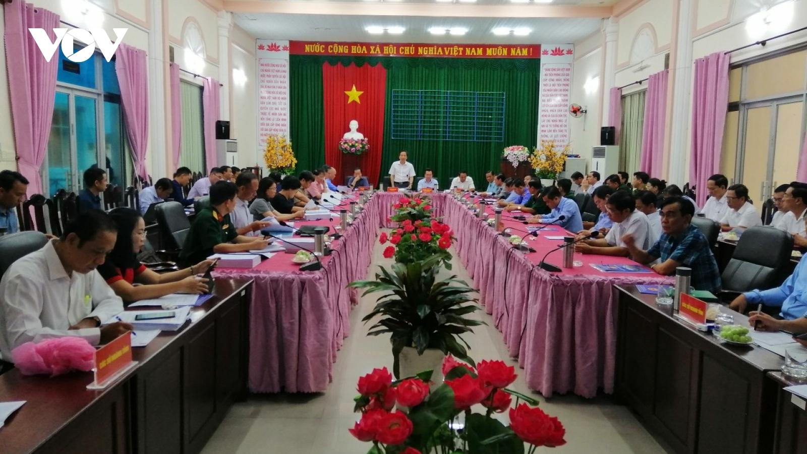 Bộ Nội vụ làm việc tại huyện đảo Phú Quốc về đề án thành lập TP Phú Quốc