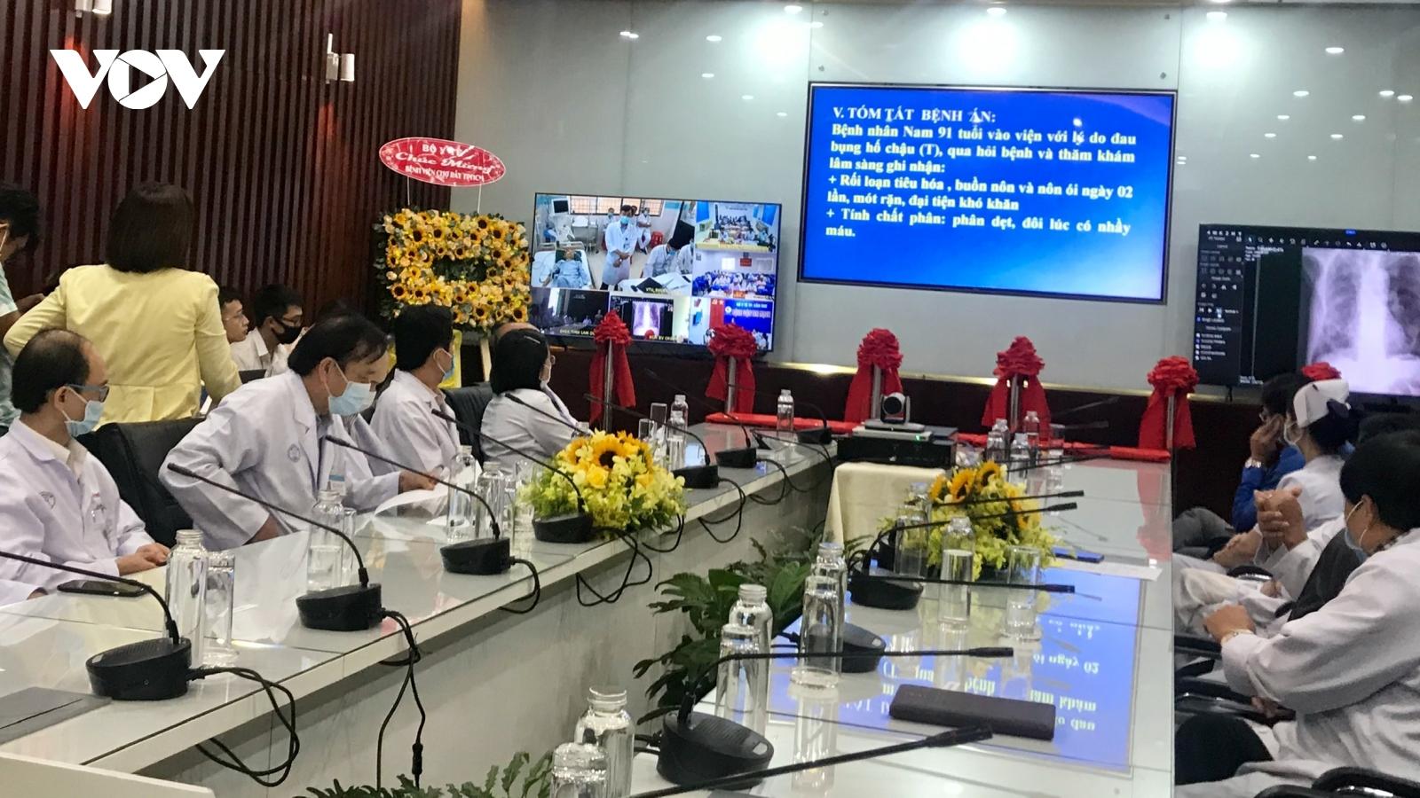 Bệnh viện Chợ Rẫy tăng cường hỗ trợ tuyến dưới khám chữa bệnh từ xa