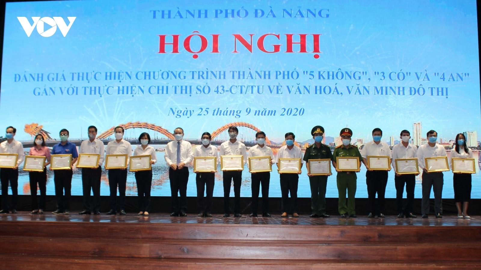 """Chương trình """"5 không 3 có"""" trở thành thương hiệu của Đà Nẵng"""