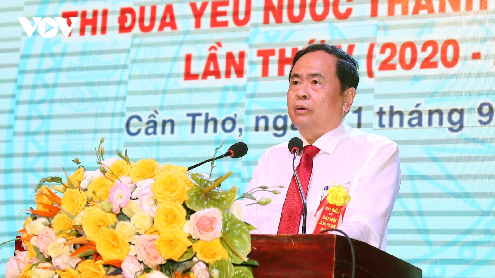 Chủ tịch MTTQ Việt Nam dự Đại hội thi đua yêu nước TP Cần Thơ