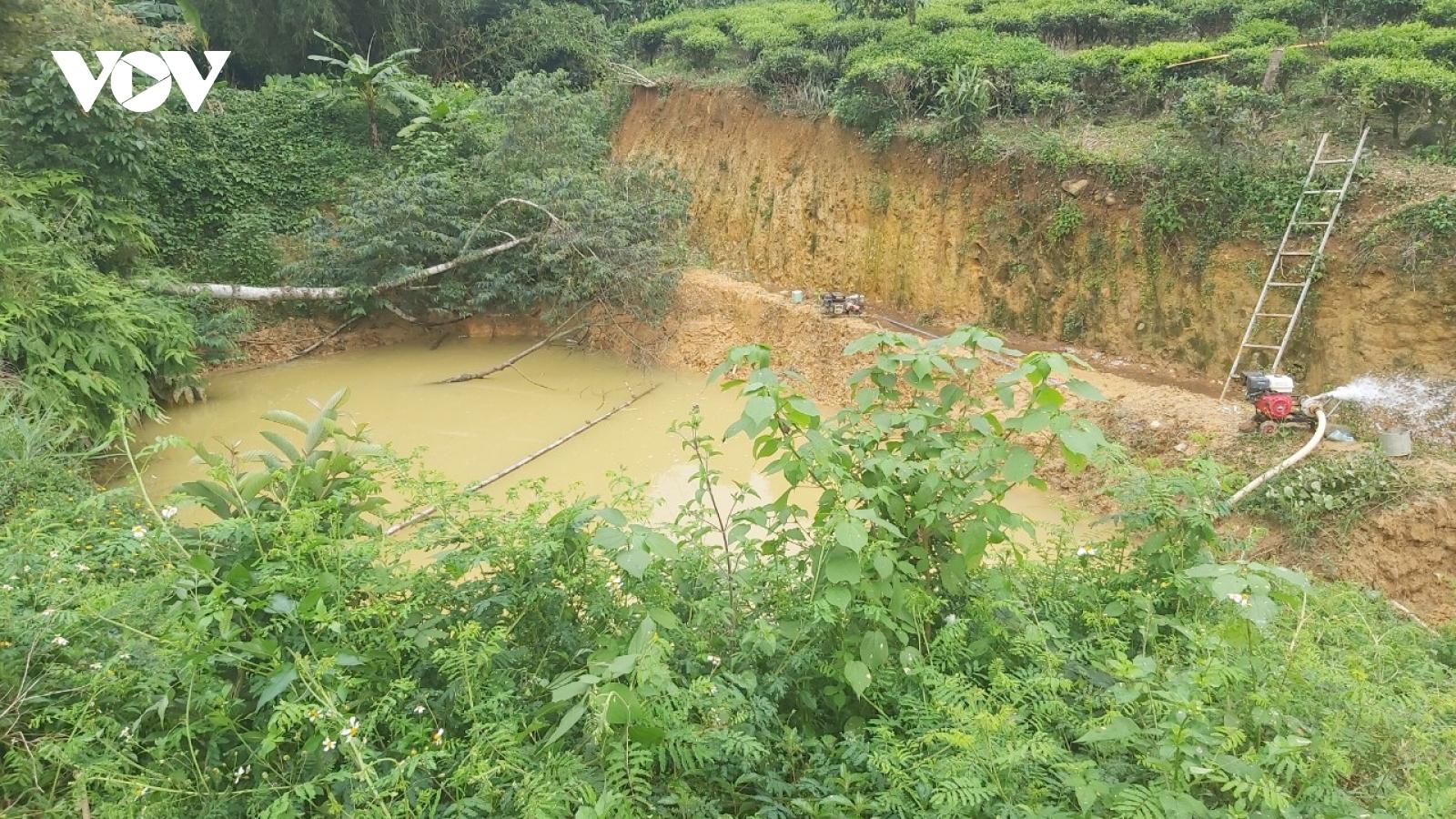 3 học sinh đuối nước thương tâm khi rơi xuống hồ ở Lâm Đồng