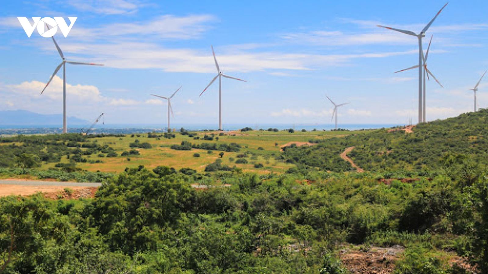 Đắk Nông xây dựng, phát triển 6 dự án điện gió
