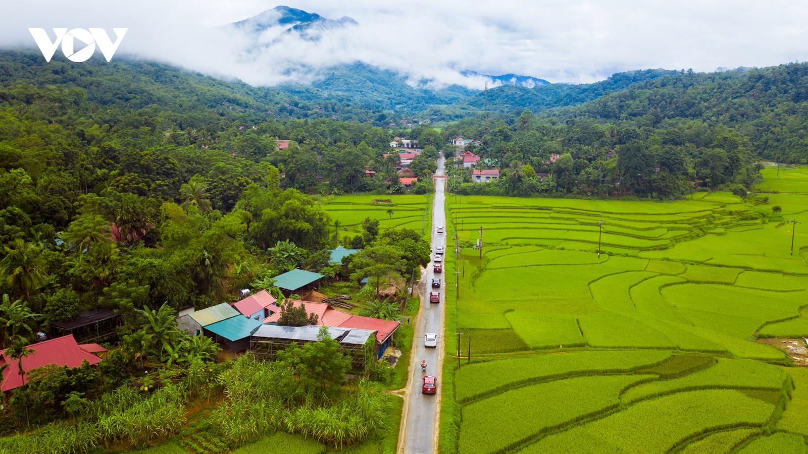 Trải nghiệm mới với cung đường Thung Nham - Pù Luông