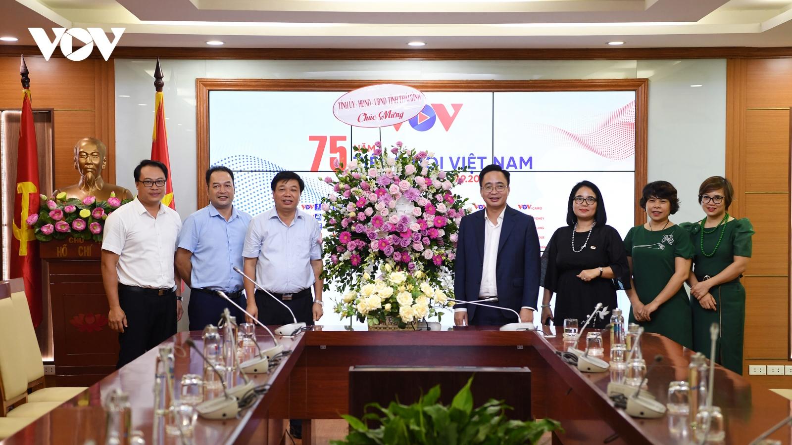 Các địa phương, đơn vị chúc mừng VOV nhân kỷ niệm 75 năm thành lập