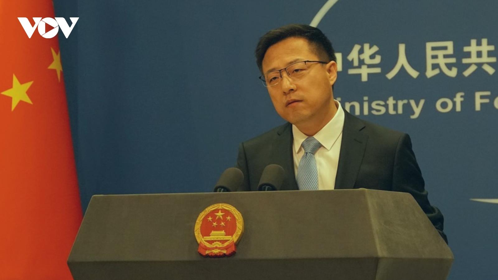Trung Quốc nói Hội đàm cấp Thứ trưởng Mỹ-Trung giúp 2 bên hiểu rõ về lập trường của nhau