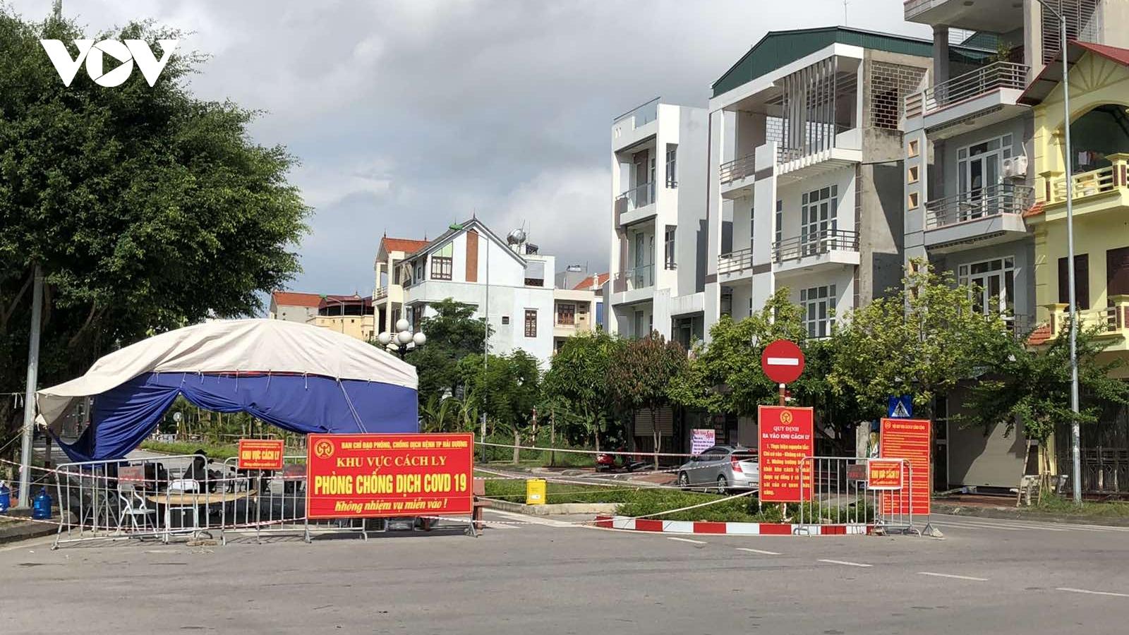 Từ 15/9, gỡ bỏ hầu hết các khu vực cách ly tại thành phố Hải Dương