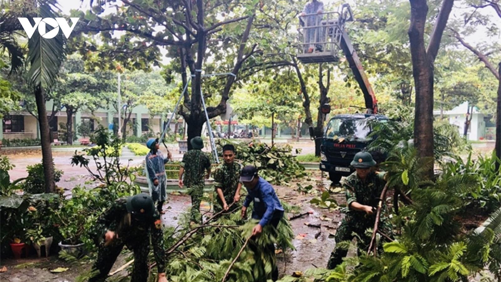 Thừa Thiên Huế tập trung khắc phục hậu quả sau bão số 5