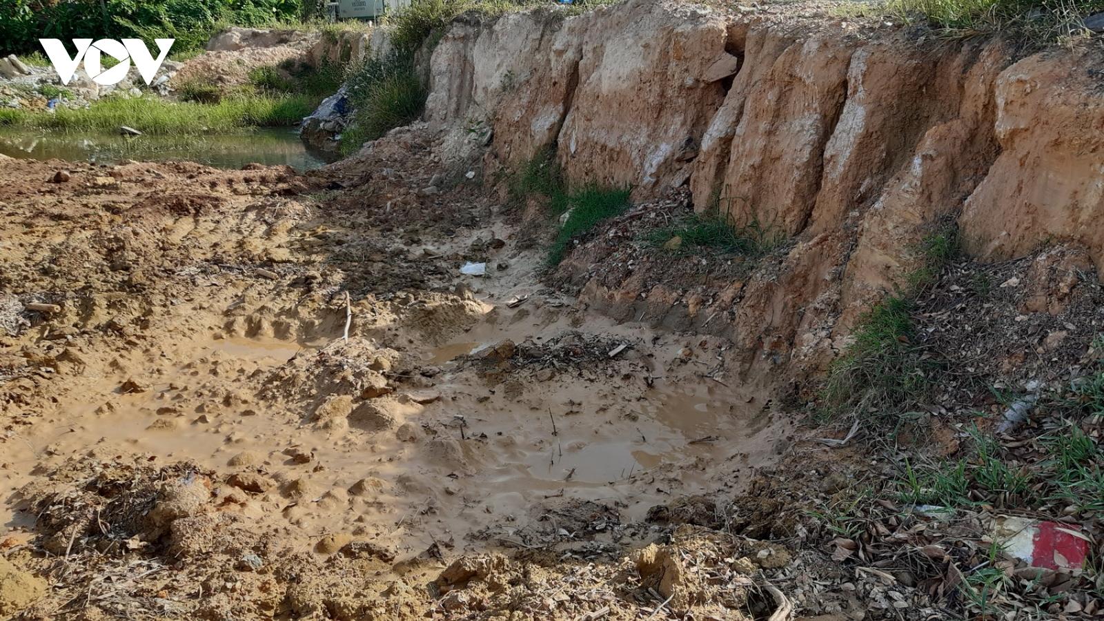 Lợi dụng dịch Covid-19 ở Đà Nẵng để  khai thác đất đá, khoáng sản trái phép