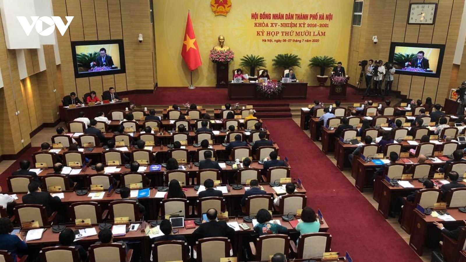 Ngày 25/9, HĐND thành phố Hà Nội sẽ tổ chức bầu Chủ tịch UBND thay ông Nguyễn Đức Chung