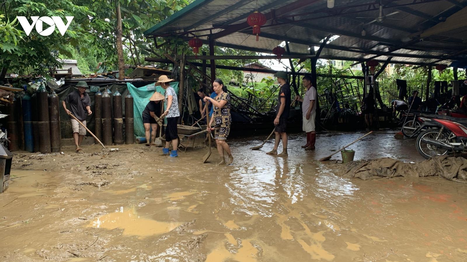 Lào Cai thiệt hại hơn 6 tỷ đồng do mưa lũ trong 2 ngày qua
