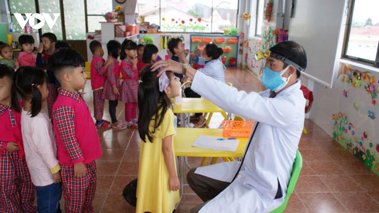 Thêm một trường Mầm non ở Lâm Đồng có nhiều trẻ mắc bệnh tay chân miệng