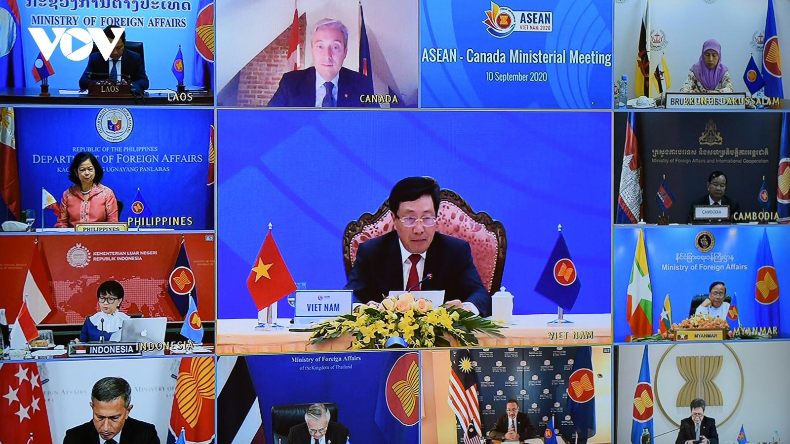 Khâu tổ chức các hội nghị trực tuyến ASEAN của Việt Nam được đánh giá cao