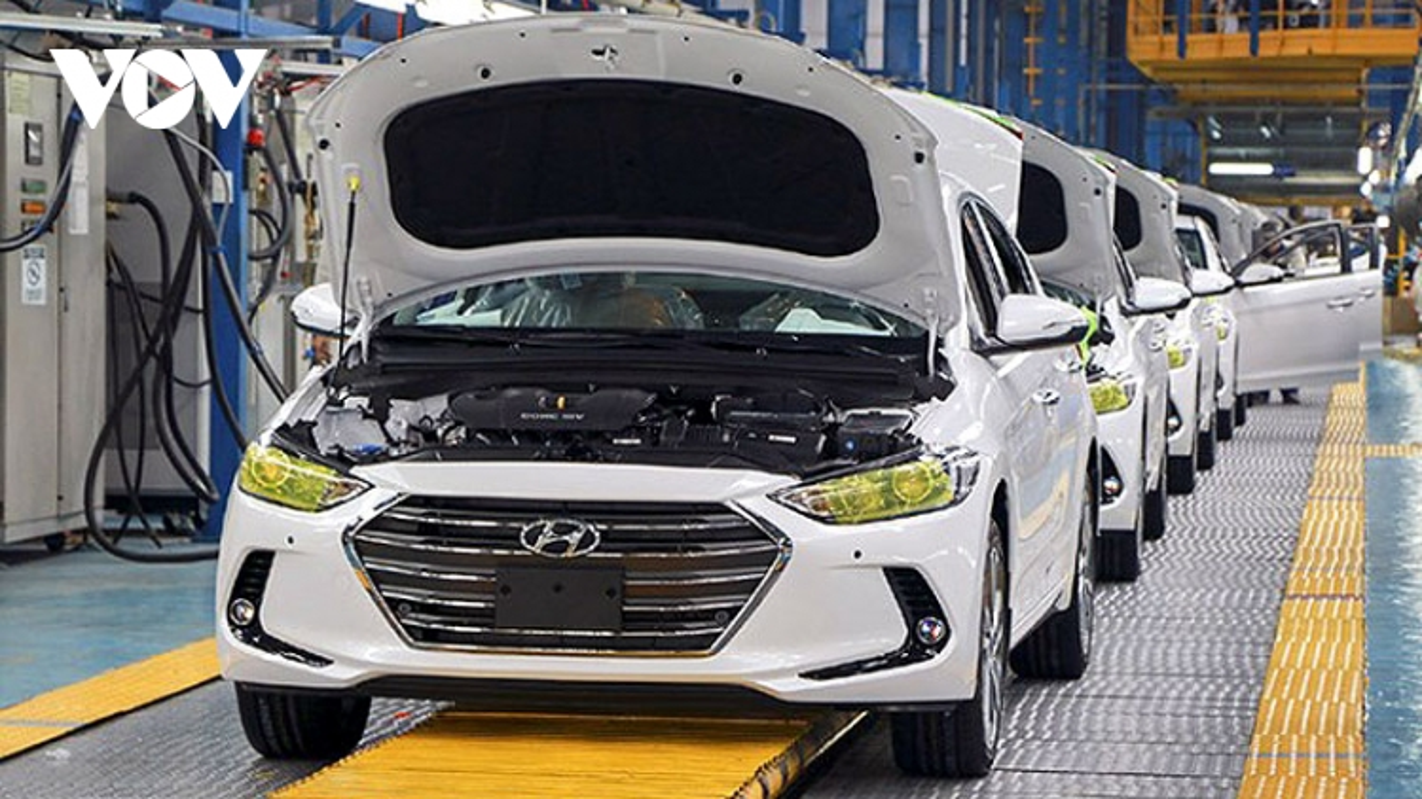 Ô tô sản xuất, lắp ráp trong nước được gia hạn nộp thuế tiêu thụ đặc biệt