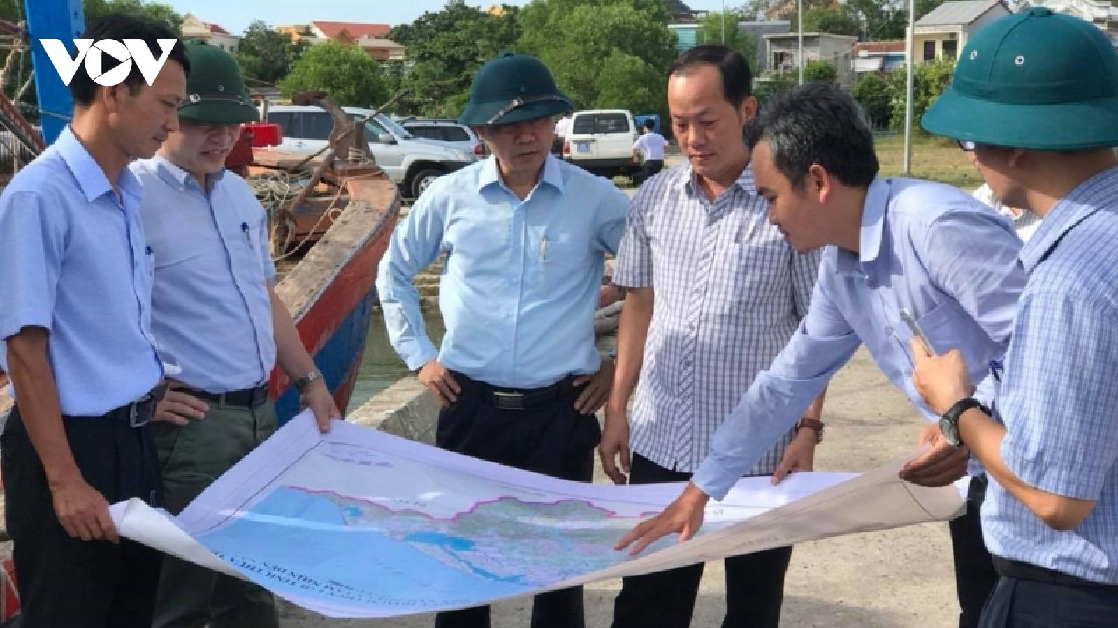 Thừa Thiên Huếsẵn sàng phương án sơ tán dân đến nơi tránh trú bão an toàn