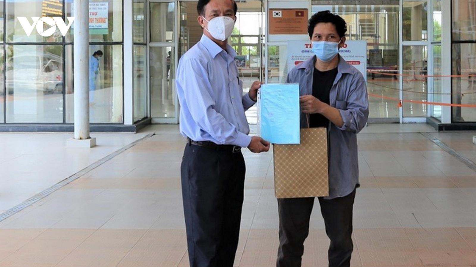 Quảng Nam điều trị khỏi thêm 2 bệnh nhân COVID-19