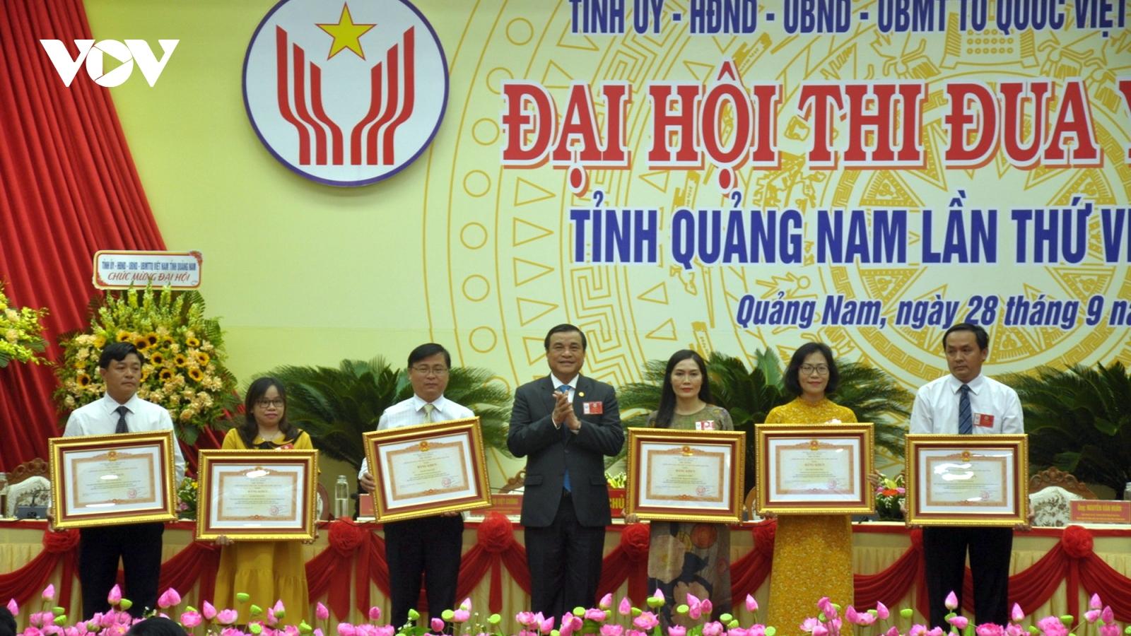 Quảng Nam: Cán bộ, đảng viên cần gương mẫu trong các phong trào thi đua