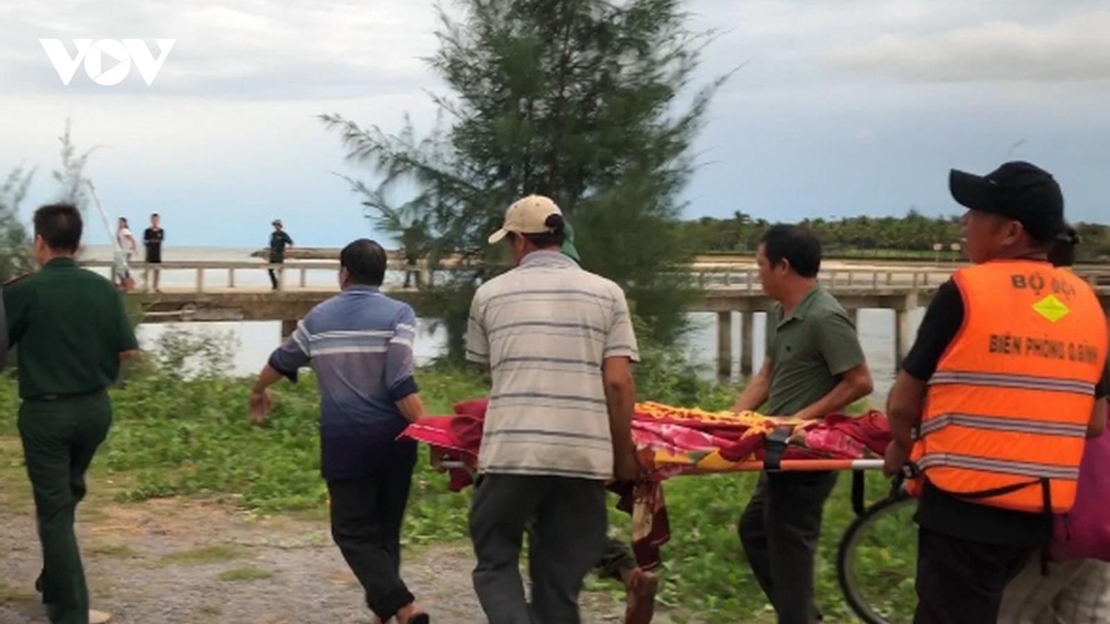 1 ngư dân Quảng Bìnhtử vong trên biển