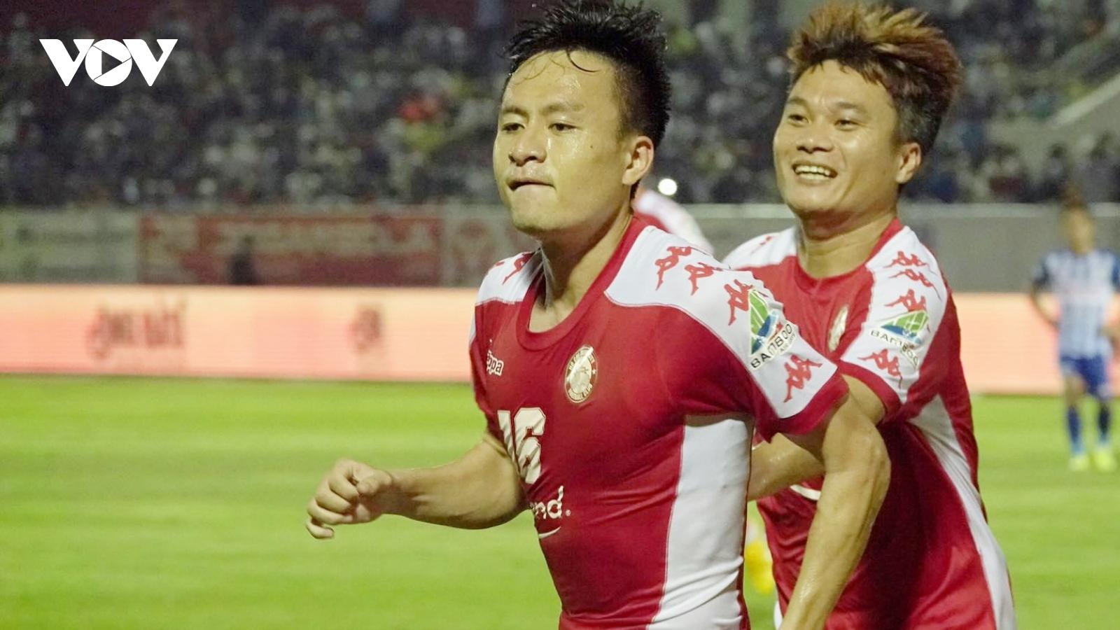 CLB TPHCM nhận tin vui trước trận đại chiến với Hà Nội FC