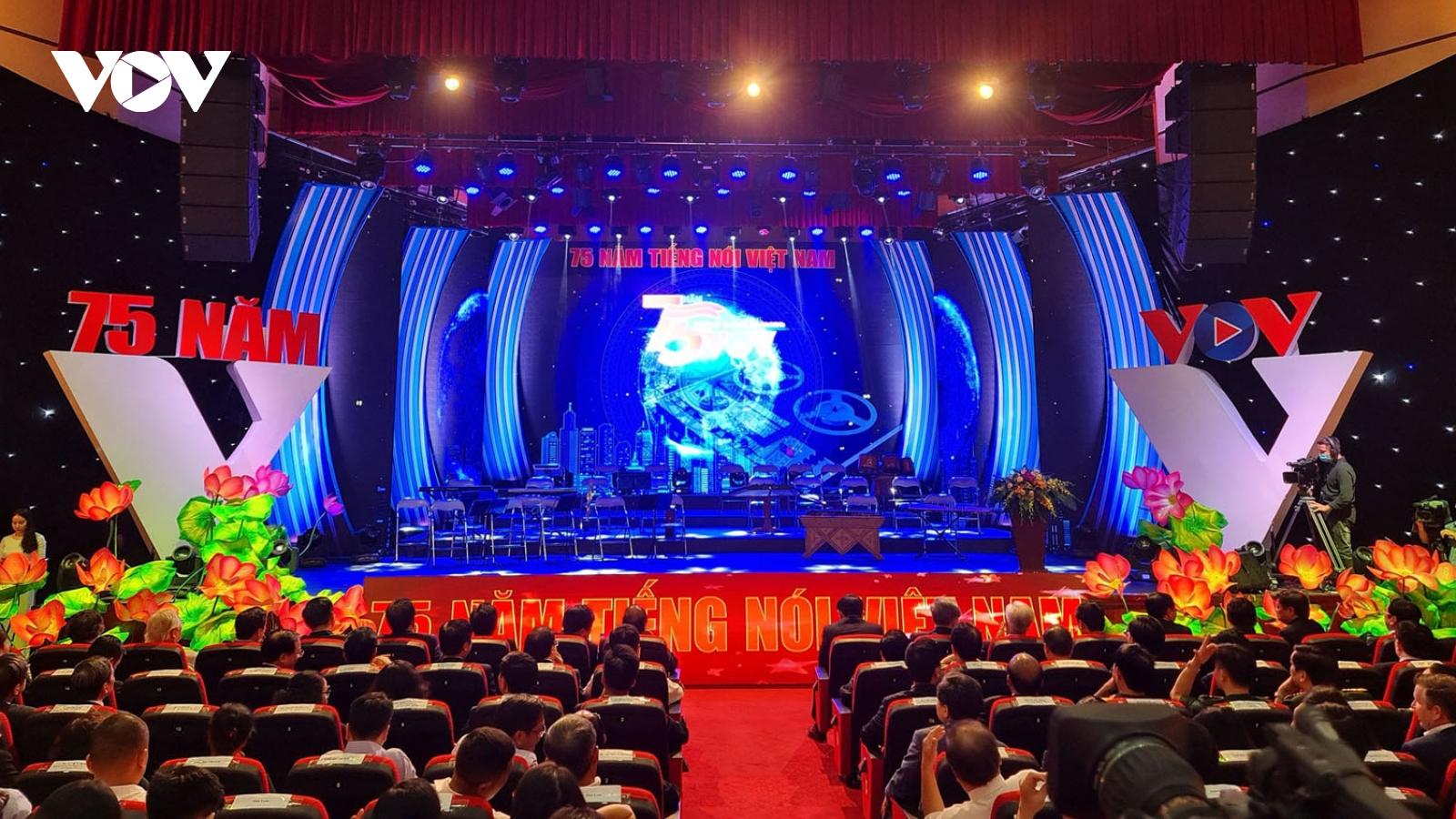 Video: Lễ Kỷ niệm 75 năm ngày thành lập Đài Tiếng nói Việt Nam