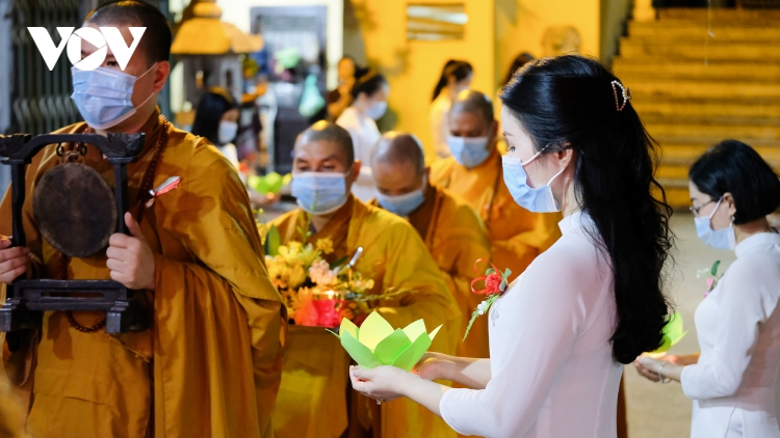 Xúc động Đại lễ Vu lan trực tuyến tại chùa Phúc Khánh trong mùa dịch Covid-19