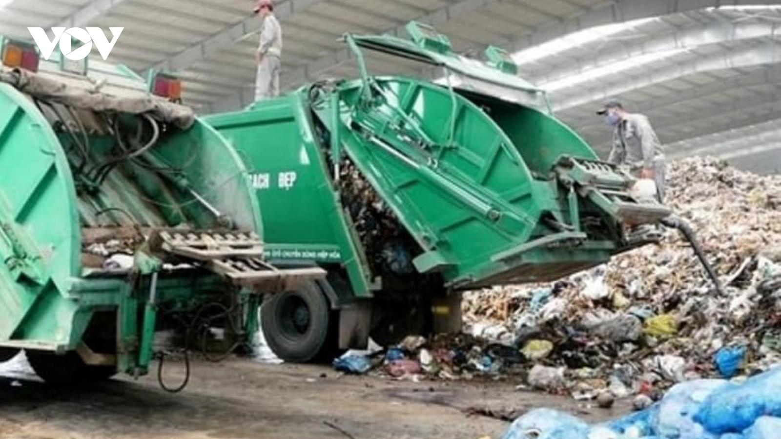 Quảng Ngãi: Người dân đã đồng ý để xe chở rác vào bãi