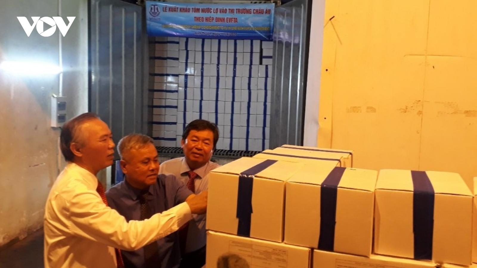 Ninh Thuận xuất khẩu tôm vào thị trường EU theo Hiệp định EVFTA