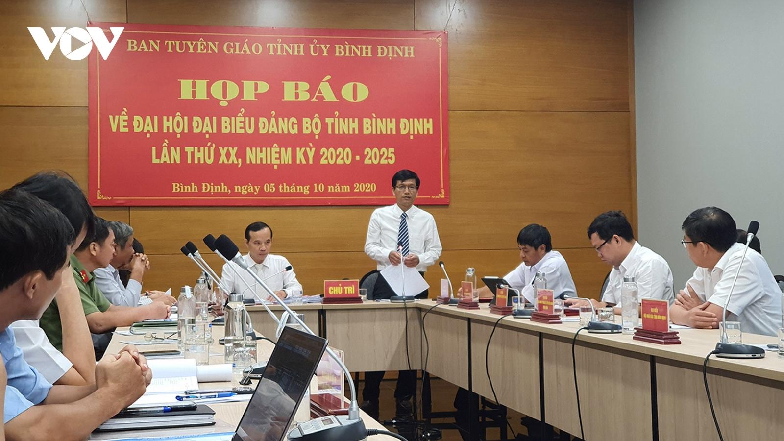 Bình Định: Chuẩn bị chu đáo Báo cáo Chính trị Đại hội Đảng bộ tỉnh lần thứ XX