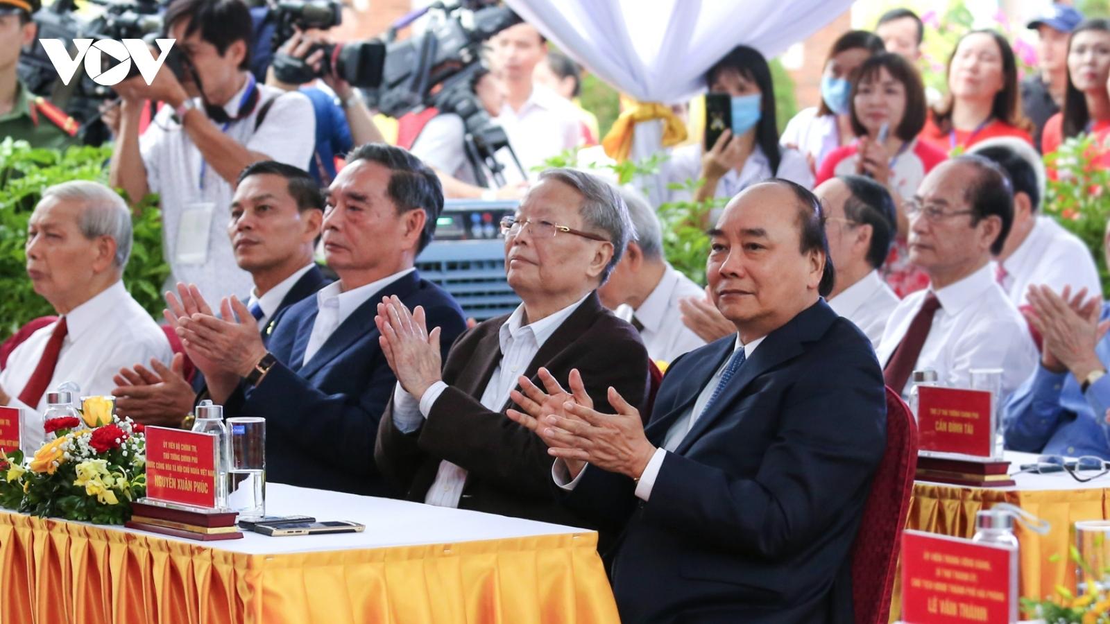 Thủ tướng dự khánh thành, khởi công các công trình chào mừng Đại hội Đảng bộ TP Hải Phòng