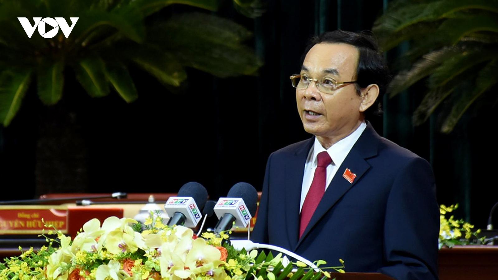 Bí thư Thành uỷ Nguyễn Văn Nên: TPHCM vì cả nước, cùng cả nước