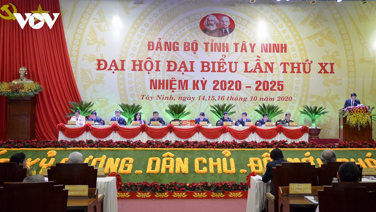 Ông Trần Thanh Mẫn dự khai mạc Đại hội Đảng bộ tỉnh Tây Ninh