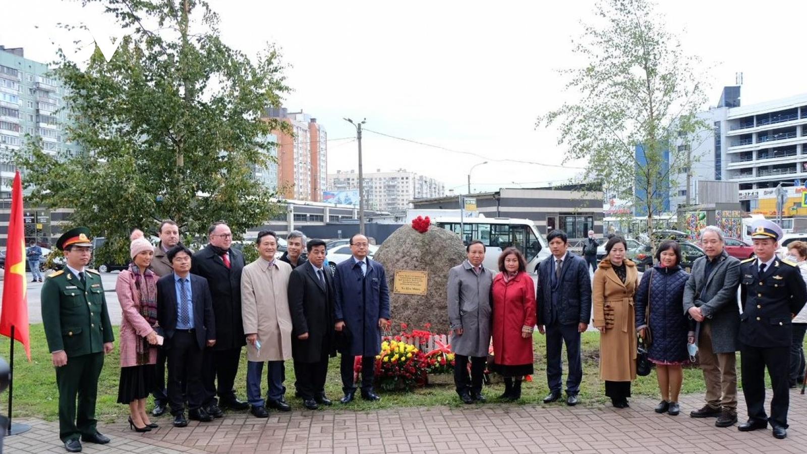 Dựng tượng đài thứ 5 của Chủ tịch Hồ Chí Minh tại LB Nga.