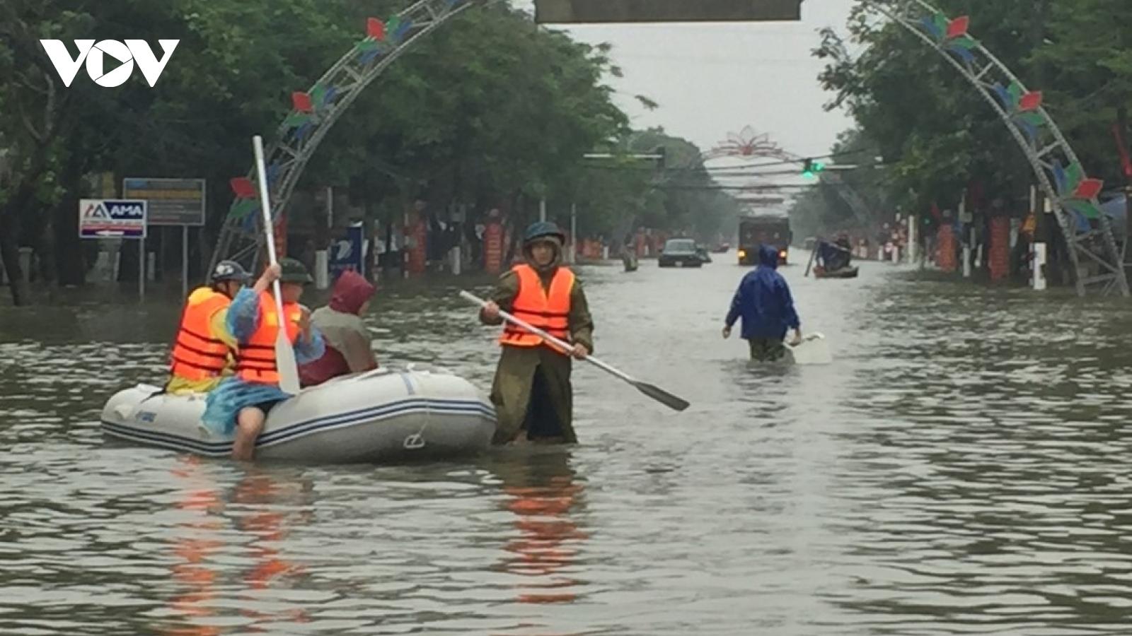 """Hồ Kẻ Gỗ có phải là """"thủ phạm"""" gây ngập lụt ở Hà Tĩnh?"""