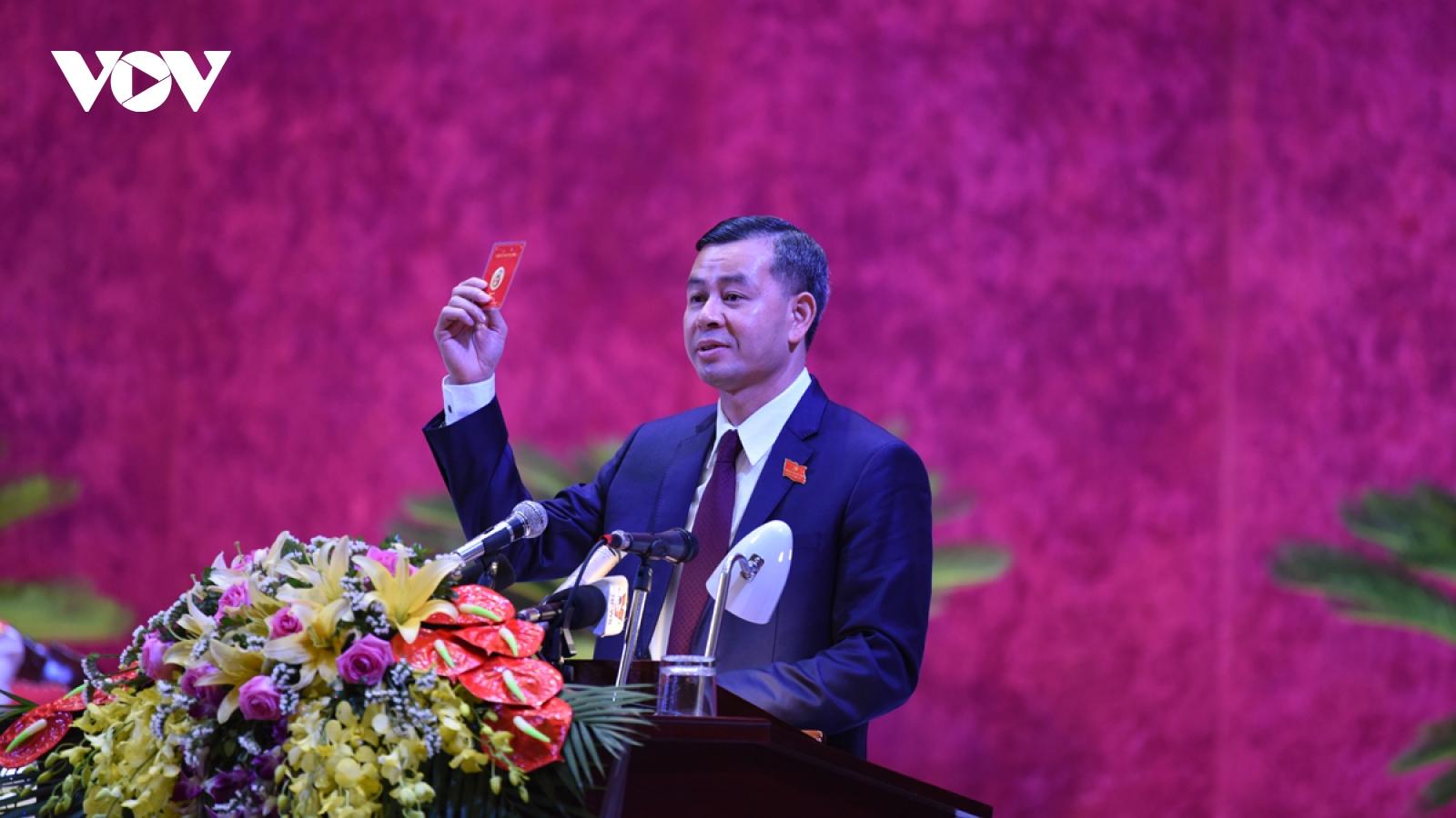 Ông Ngô Văn Tuấn được bầu giữ chức Bí thư Tỉnh ủy Hòa Bình khóa XVII