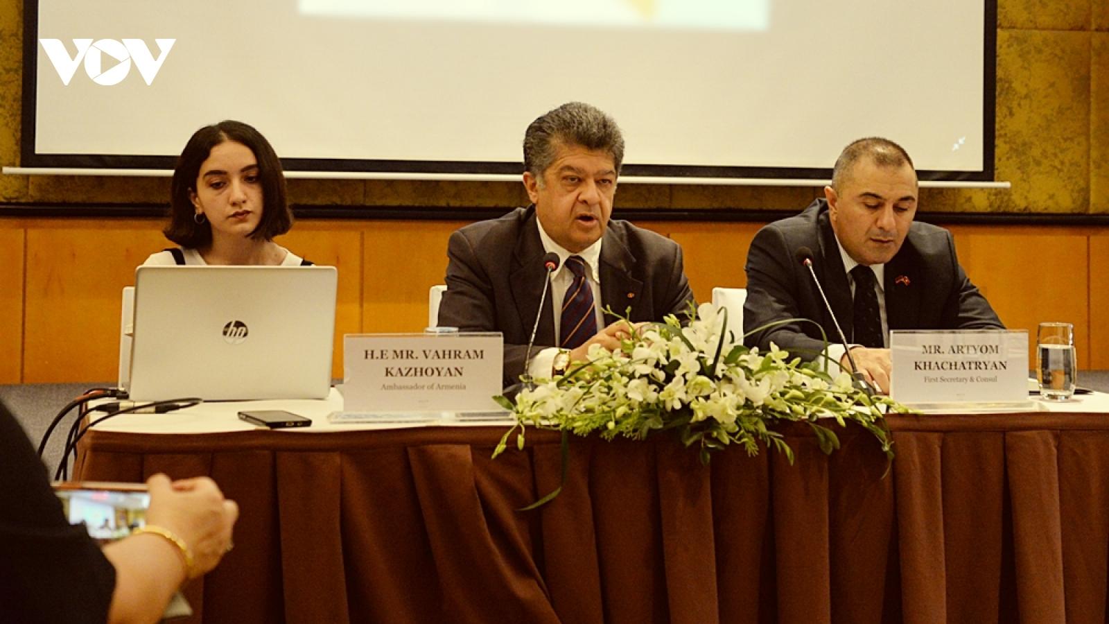 Armenia kêu gọi đàm phán về Nagorno-Karabakh, tìm giải pháp hòa bình dài lâu