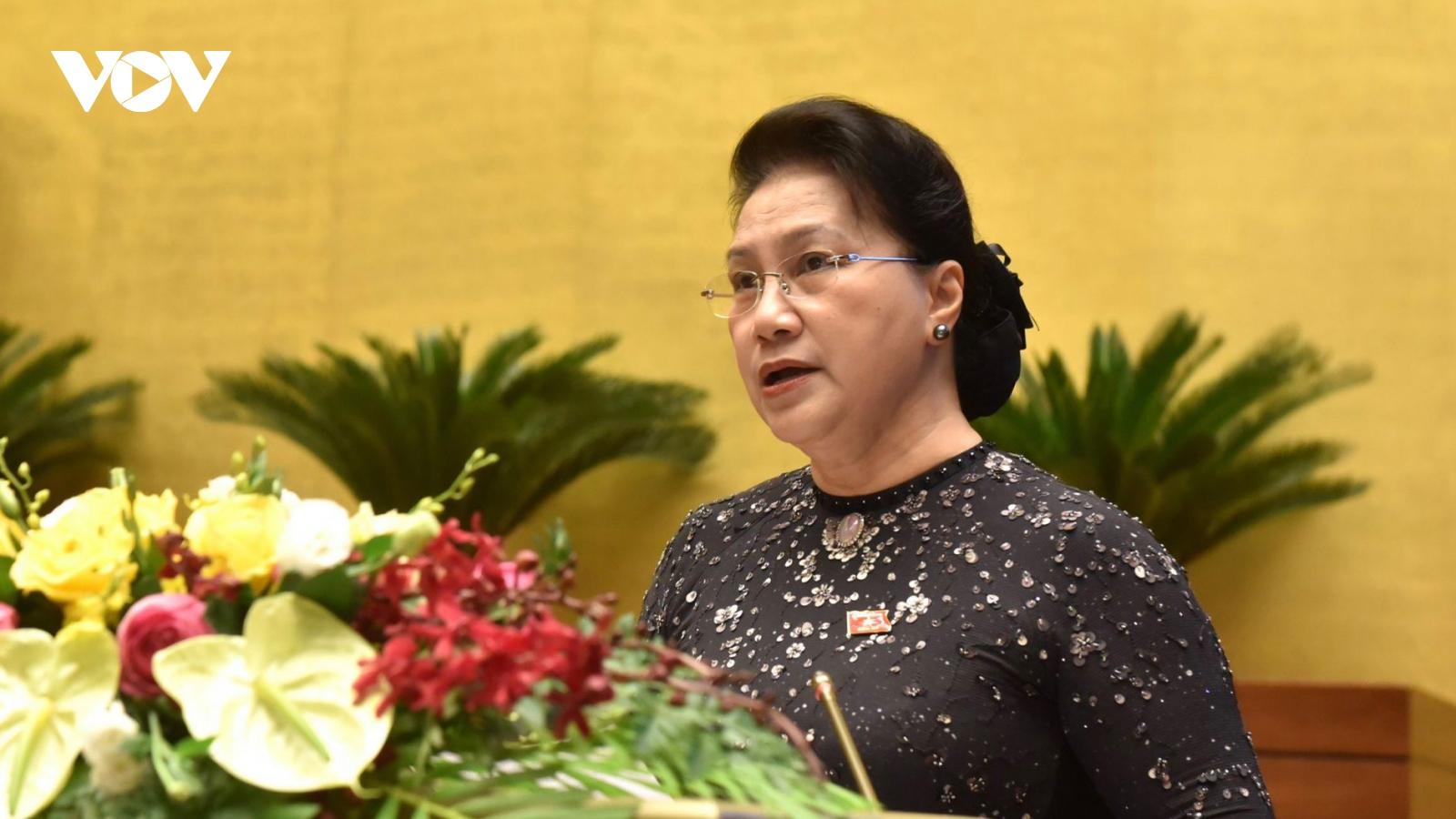 Quốc hội chia sẻ đau thương, mất mát với các tỉnh miền Trung