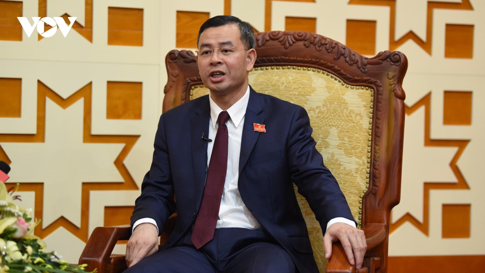 Tân Bí thư Tỉnh ủy Hòa Bình: Quyết tâm thực hiện 4 đột phá chiến lược