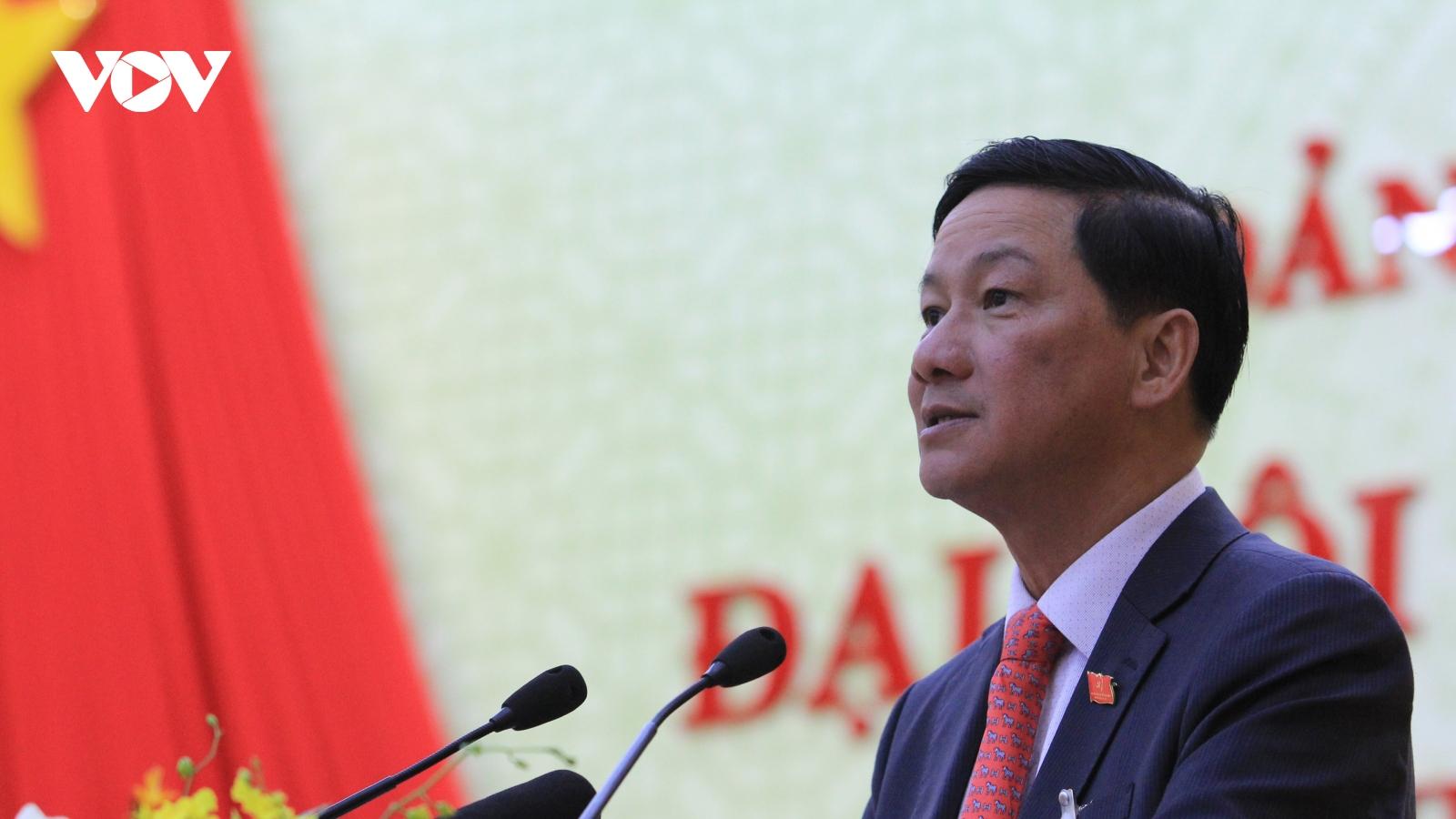 Chân dung tân Bí thư Tỉnh ủy Lâm Đồng Trần Đức Quận