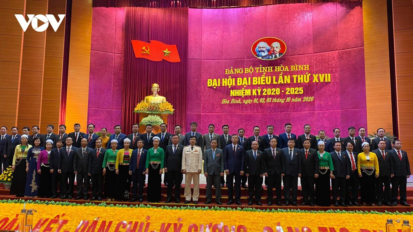Hòa Bình xác định 11 nhiệm vụ trọng tâm trong nhiệm kỳ mới