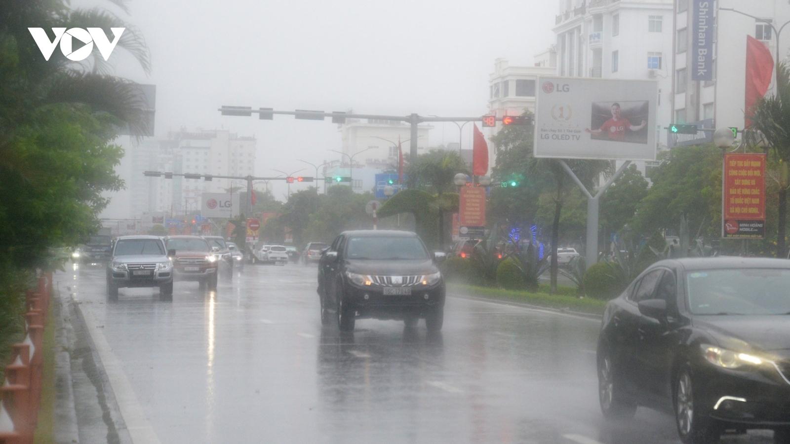 Bão số 7 suy yếu thành áp thấp, đi vào các tỉnh từ Thái Bình đến Thanh Hóa