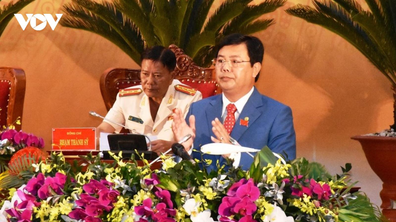 Ông Nguyễn Tiến Hải trúng cử Bí thư Tỉnh ủy Cà Mau