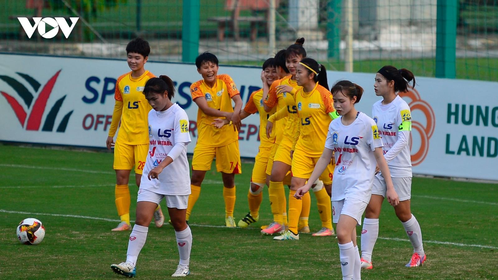 Huỳnh Như ghi bàn, TPHCM I vô địch lượt đi Giải bóng đá nữ VĐQG 2020